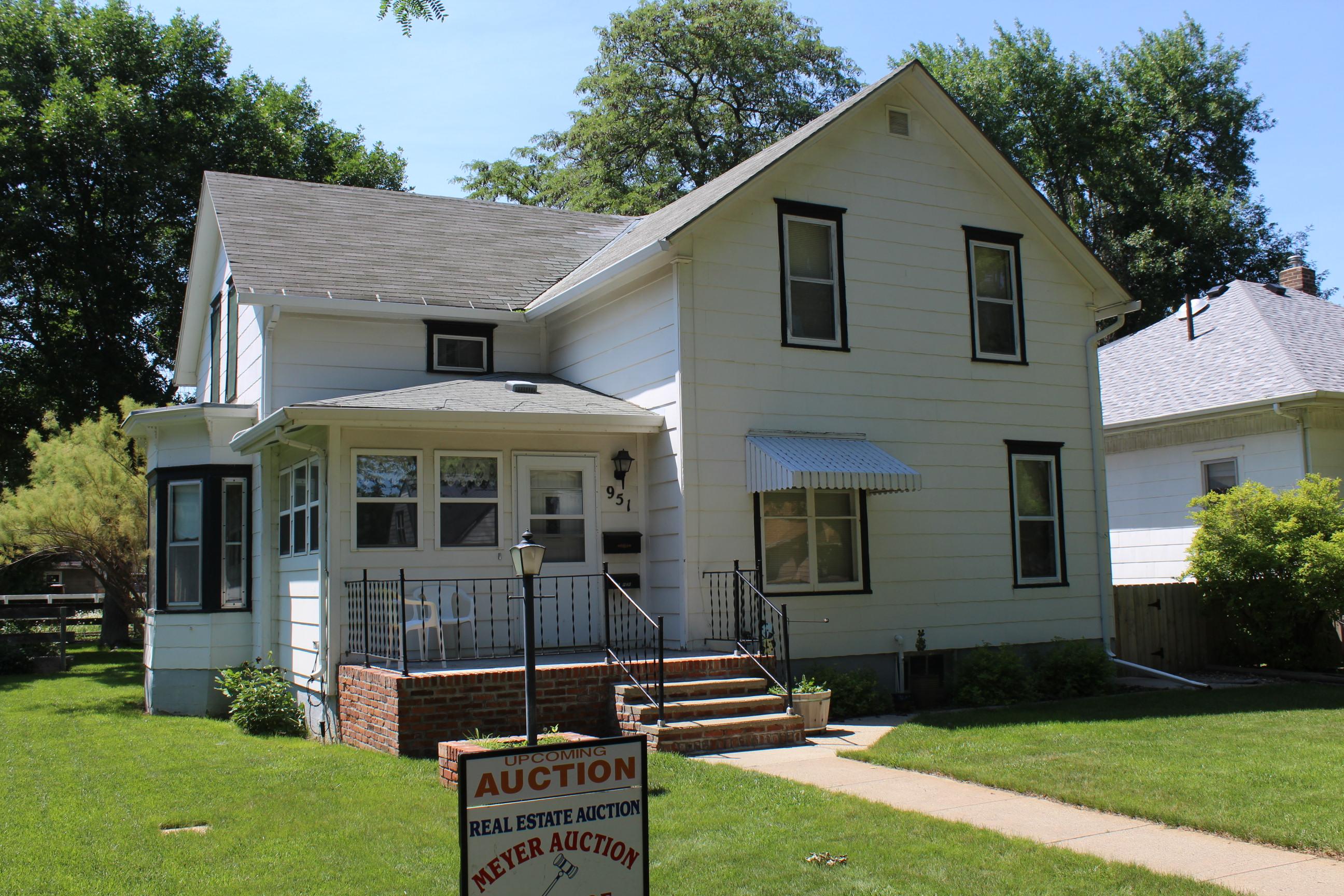 September 5, 2018  951 Kansas Ave SE Huron, SD House Auction
