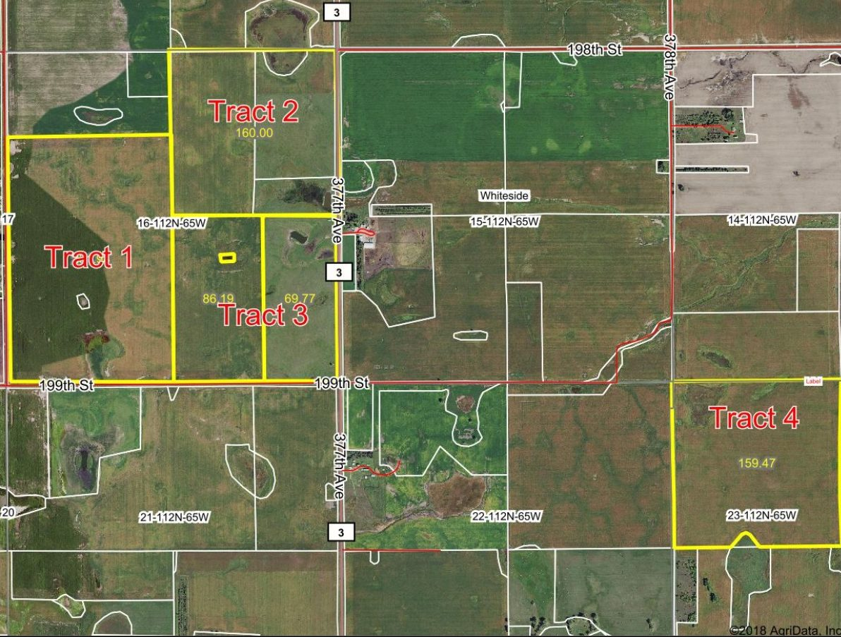 Sept. 27th 2018 Beadle County Land Auction