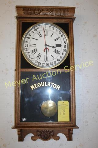 October 22, 2018 Bauder Online Only Antique Clocks, Glassware & Collectibles