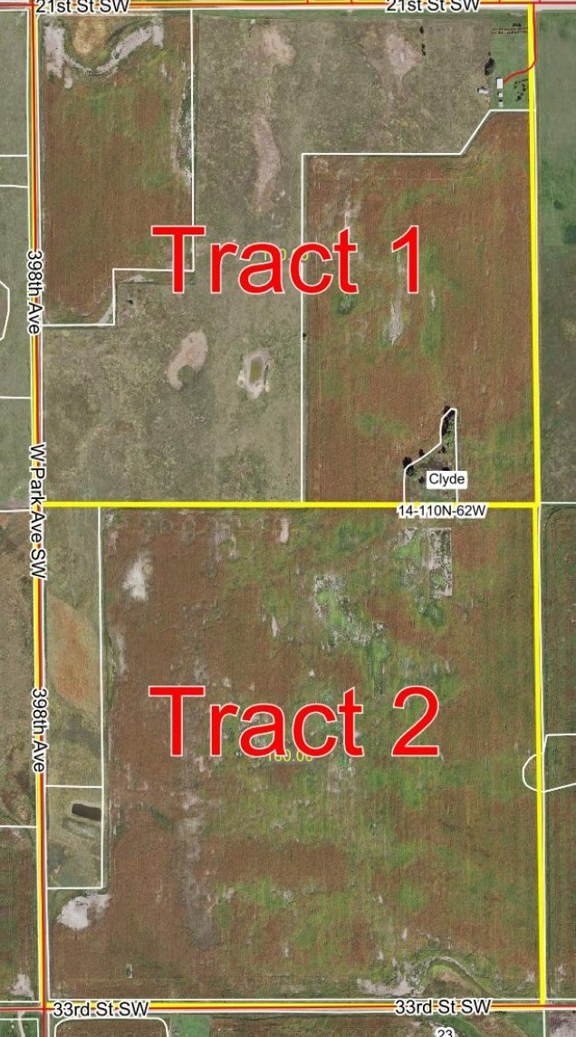 March 7th, 11am – 320 Acres Beadle County Land