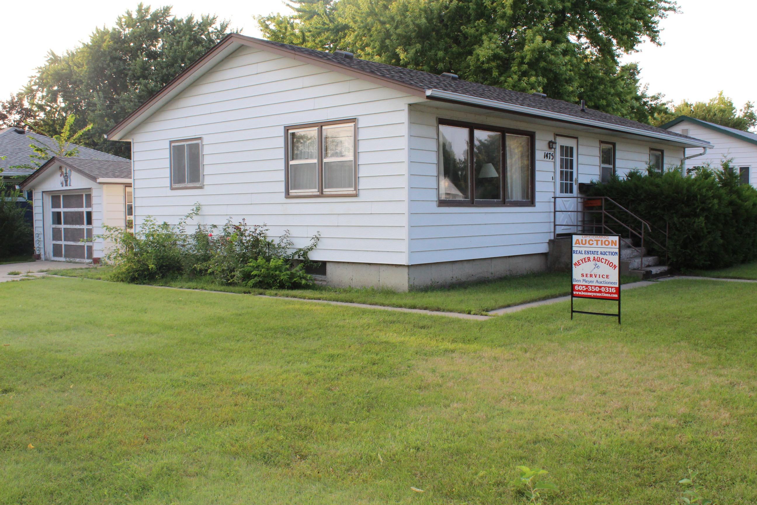 9/10 House and Live Auction 1475 Utah Ave SE, Huron