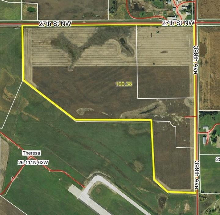 Dec. 19th Beadle County Land Auction 100.81 Acre