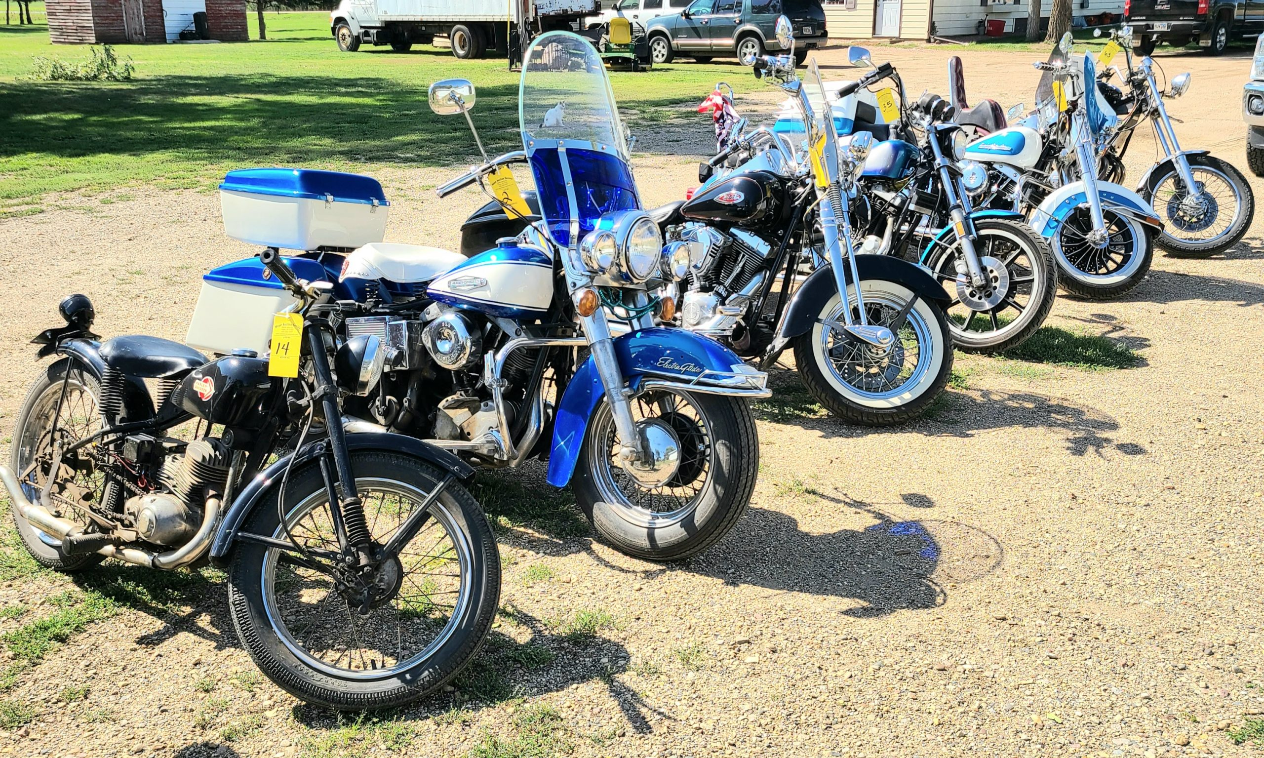 Oct 13th 7pm Garry Olmstead Harley Collection