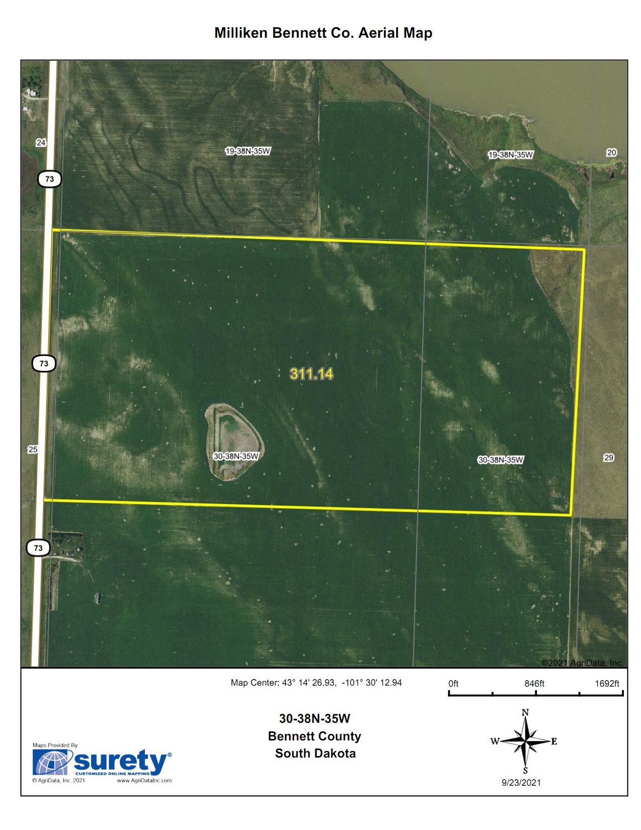 11/10 Bennett County SD Land Auction